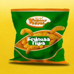 Erdnussflips Mini